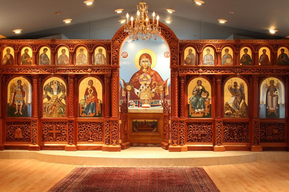 Our iconostasis (icon screen)